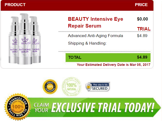 BEAUTY Intensive Eye Repair Serum