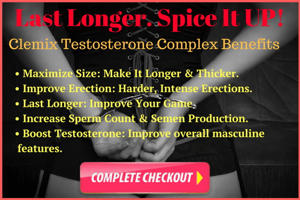 Clemix Testosterone Complex - Reviews - Risk Free Trial- Fitbeauty365.com