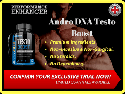 Andro DNA Testo Boost - Testosterone Booster - UK- Fitbeauty365.com