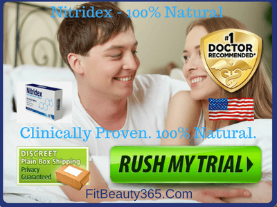 Nitridex Male Enhancement- Reviews - Free Trial- Fitbeauty365.com