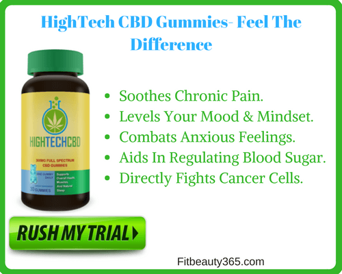 Hightech CBD Gummies -Reviews- Fitbeauty365.com