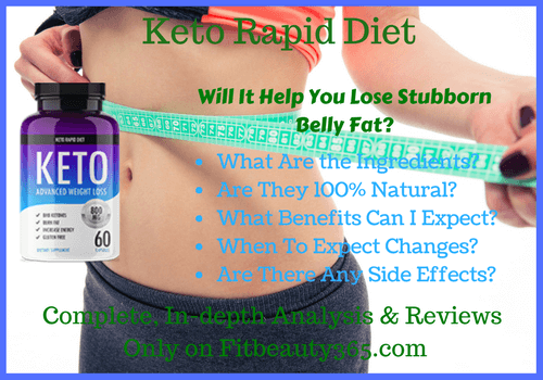 Keto Rapid Diet - Reviews - Fitbeauty365.com