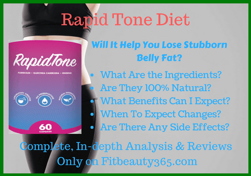 Rapid Tone Diet - Reviews- Fitbeauty365.com