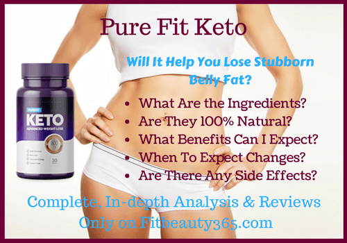 PureFit Keto - Reviews - Fitbeauty365.com