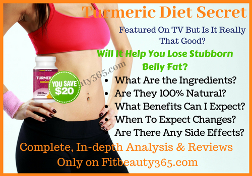 Turmeric Diet Secret - Reviews - Free Trial - Fitbeauty365.com