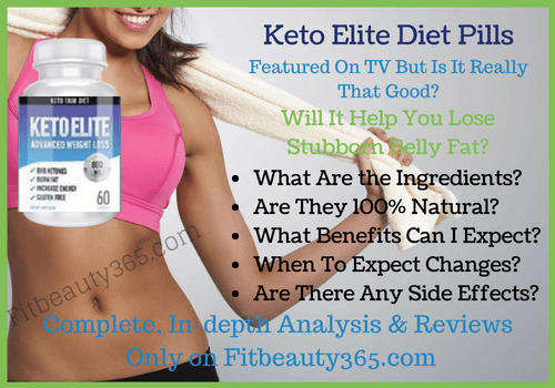Keto Elite Diet - Reviews - Fitbeauty365.com