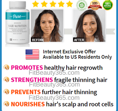 Pure Body Advanced Hair Nutrition | Reviews Updated June 2018