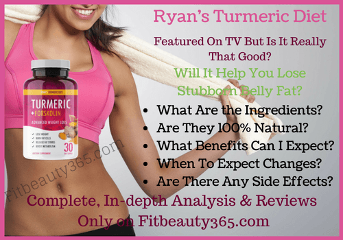 Ryan's Turmeric Diet - Review - Fitbeauty365