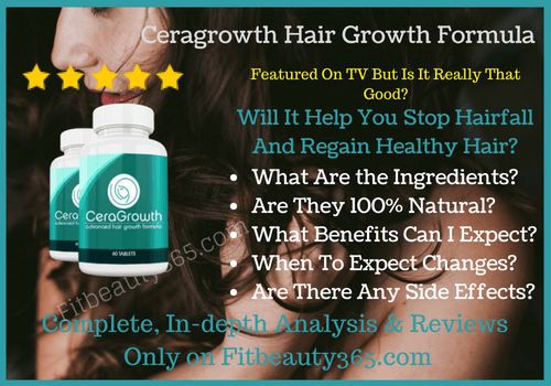 Ceragrowth Hair Growth Formula - Review - Fitbeauty365.com