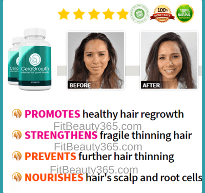 Ceragrowth Hair Growth Formula | Reviews Updated July 2018
