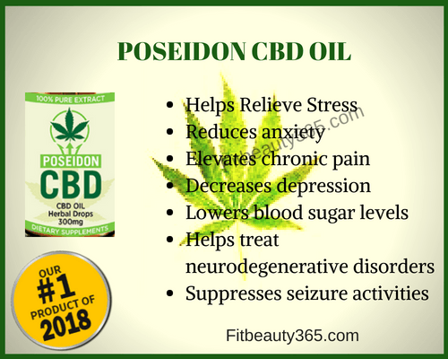 Poseiden CBD Oil - Review - Fitbeauty365.com
