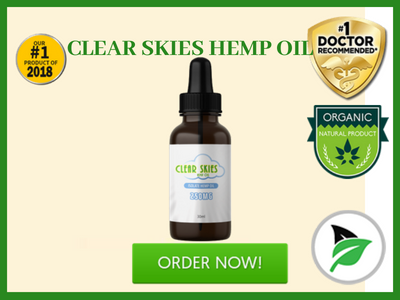 Clear Skies Hemp Oil - Review - Fitbeauty365.com