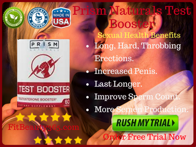 Prism Naturals Test Booster - Review - Fitbeauty365.com