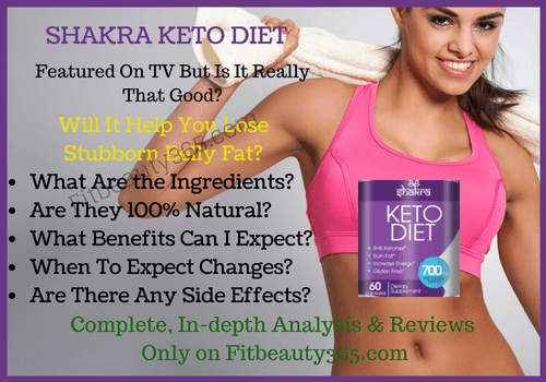 Shakra Keto Diet - Reviews - Fitbeauty365.com