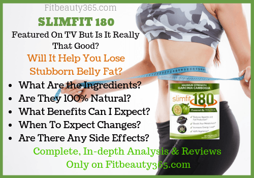 Slimfit 180 - Reviews - Fitbeauty365.com