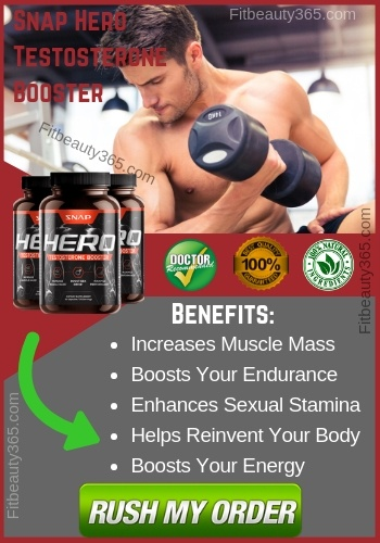 Snap Hero Testosterone Booster - Reviews - Fitbeauty365.com