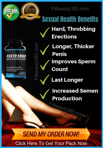 Testo Edge Male Enhancement - Reviews - Fitbeauty365.com